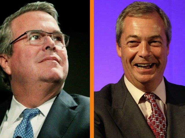 jeb bush nigel farage