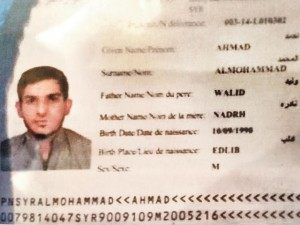 fake Syrian Passport