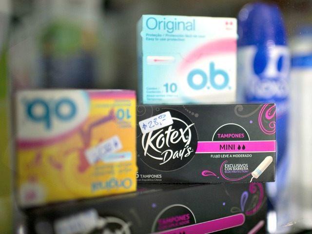 feminine hygiene products Natacha PisarenkoAP