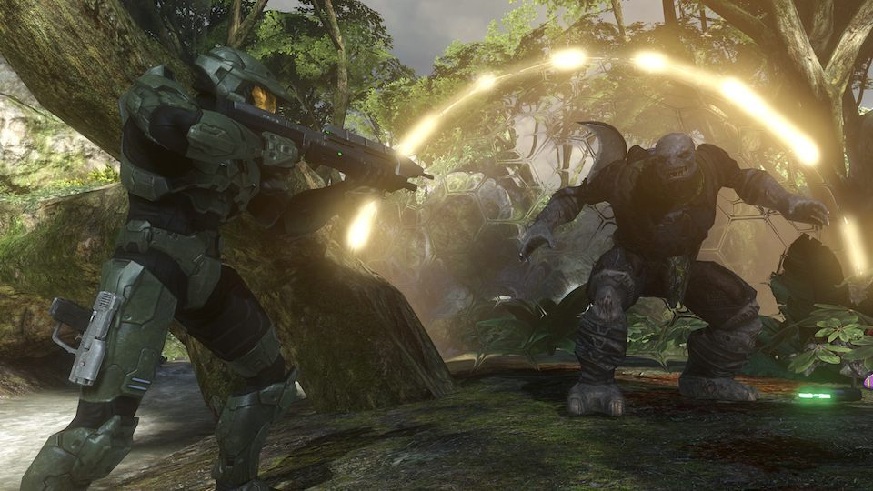 How Bungie wanted people to believe Halo 3 would look in action.