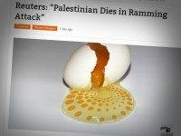 Reuters Headline Makes Palestinian Terrorist The Victim Of His Own Attack