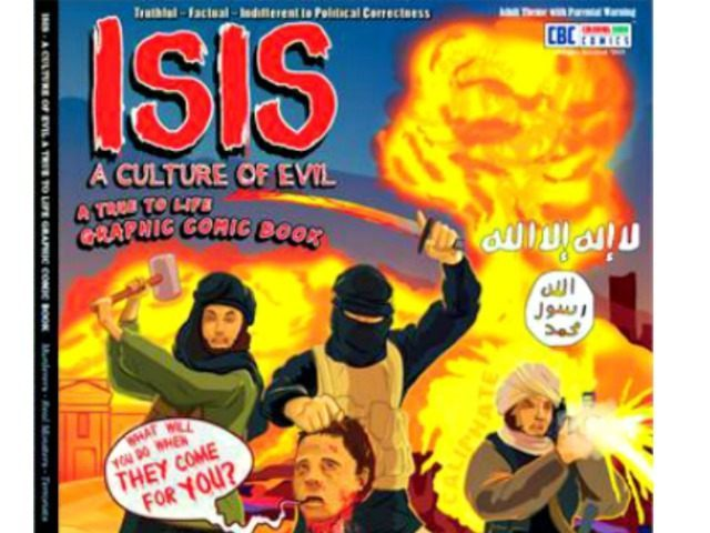ISIS Adult Coloring Book Shows Hideous Reality Of Terrorists