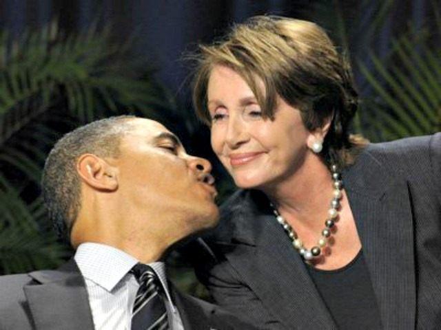 obama-pelosi-kissing AP Photo Susan Walsh
