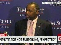 Friday at a press conference in Greenville, SC, Republican presidential …
