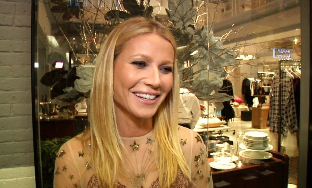 Gwyneth Paltow at the opening of her Goop pop-up store in NYC on Dec. 2, 2015. (Bastien Inzaurralde, AP Photo)