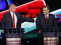 Donald Trump, Ted Cruz
