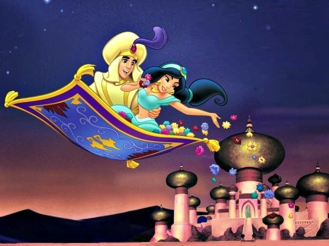 Alladin, Jasmin, Agrabah Disney Studios