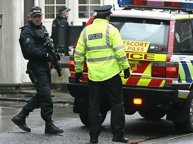 Thank Police escort techniques