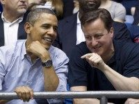 Barack Obama and David Cameron (Carolyn Kaster / Associated Press)