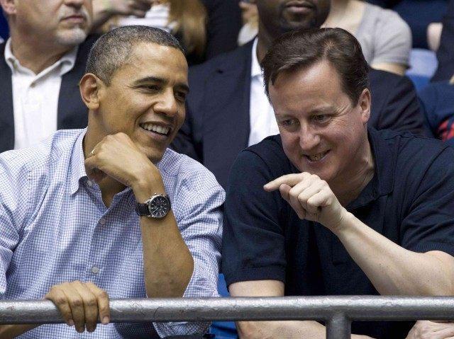Barack Obama and David Cameron (Carolyn Kaster / Associated Press)