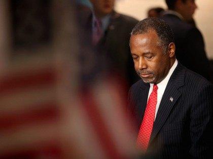 Ben Carson at GOP Debate (Justin Sullivan / Getty)
