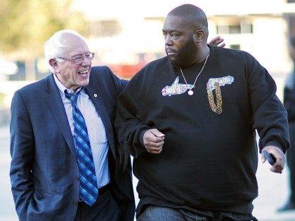 Bernie Sanders and Killer Mike (David Goldman / Associated Press)