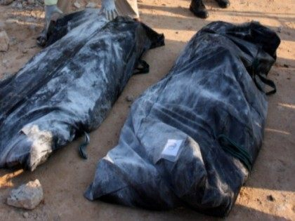Body Bags with Corpses