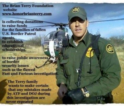 Brian Terry Foundation message