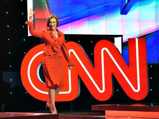 Carly Intro CNN Debate Ethan Miller Getty