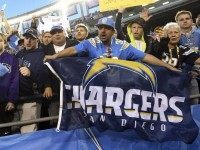 Chargers fans (Denis Poroy / Associated Press)