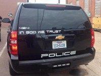 Childress Police In God We Trust