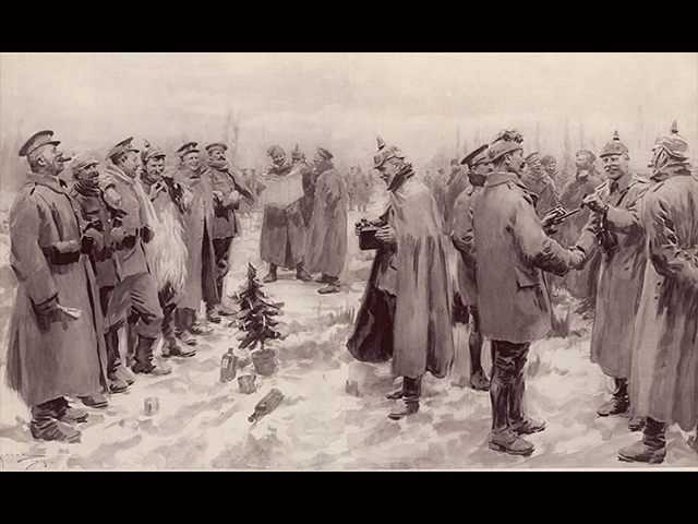Wwi Christmas Truce.25 Dec 17 World View Remembering The 1914 World War I