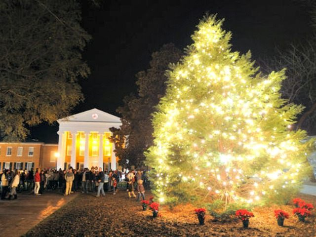 Christmas tree University of Mississippi