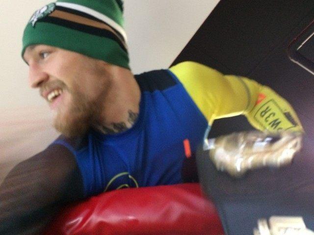 Conor McGregor Boston Gym