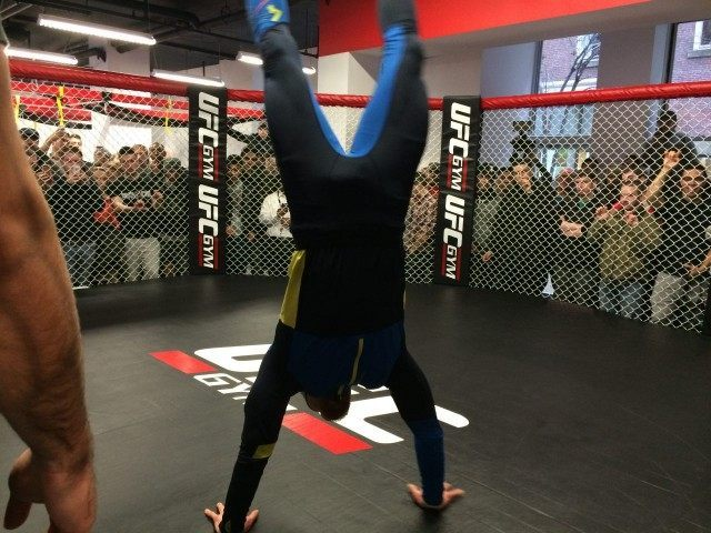 Conor McGregor Handstand