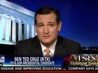 Cruz: Obama and Clinton 'Have No Intention of Even Trying' To Defeat Islamic State