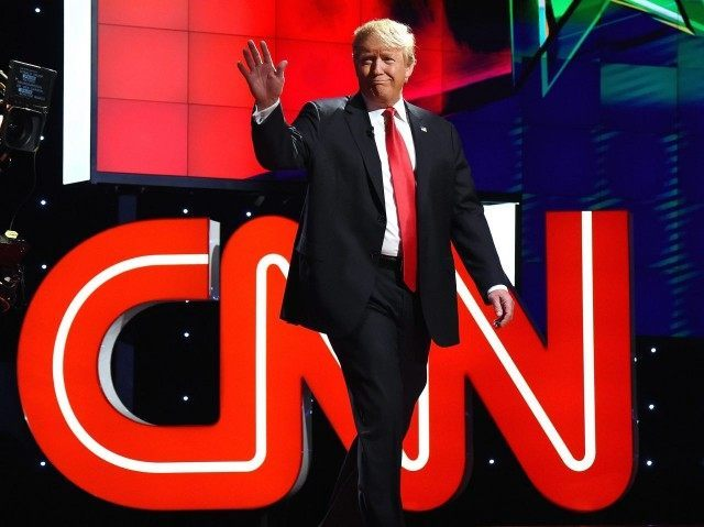 Donald Trump at CNN GOP Debate (Ethan Miller / Getty)