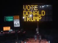 Donald Trump sign (Nikki Miles Worden / Facebook)