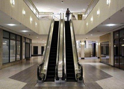 Empty mall (Patrick Semansky / Associated Press)