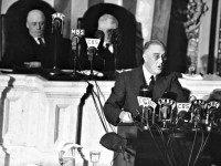 FDR Addresses Congress AP