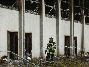 Refugee Facility Burns In Arson Attack In Nauen