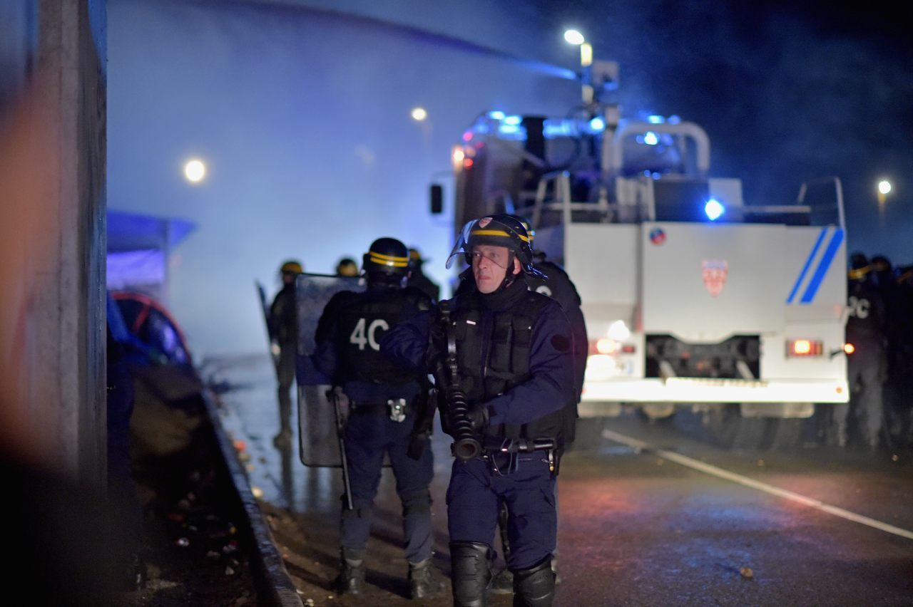 French police on patrol (Jeff J Mitchell/Getty Images)