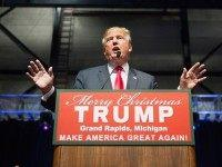 Donald Trump Campaigns In Grand Rapids