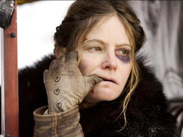 tarantino s hateful eight accused of misogyny for extreme  tarantino s hateful eight accused of misogyny for extreme violence to female character