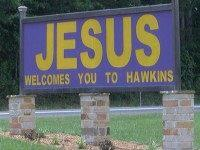 Hawkins-TX-Church-Sign-KLTV