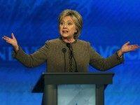 Hillary Clinton at Democratic Debate (Jim Cole / Associated Press)