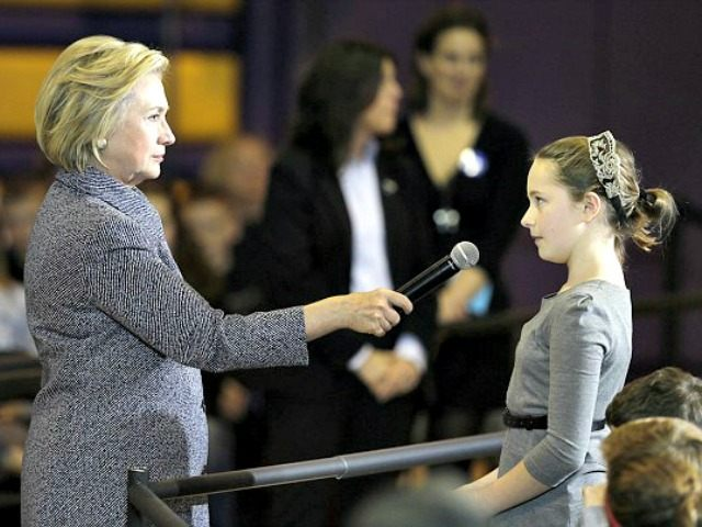 Hillary and 10-yr-Old AP