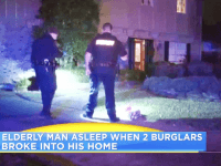 Armed Texan breaks up home invasion