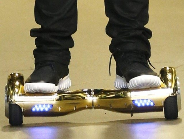 Hoverboard (Stephen Brashear / Associated Press)