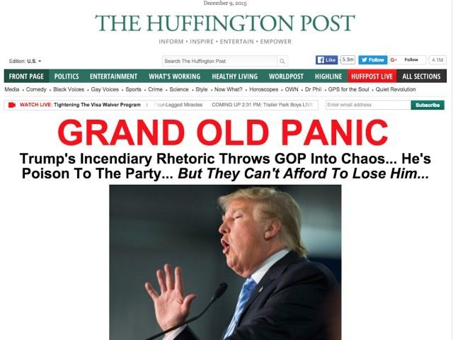 Huffington Post Grand Old Panic