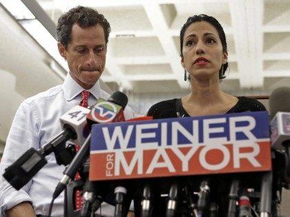 Huma Abedin Weiner (Kathy Willens / Associated Press)