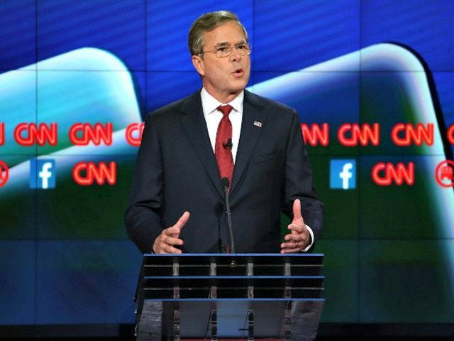 Jeb Debate Justin Sullivan Getty
