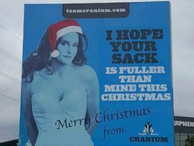 Trannies Whine About Hilarious Bruce Jenner Billboard - Breitbart