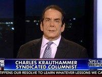 Krauthammer on Coulter at Berkeley: 'Reaching a Situation Where' 'Fascist Gangs Can Shut Down Free Speech'