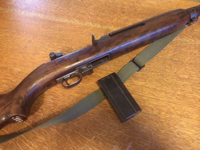 M1 Carbine Close Up (Tim Donnelly)