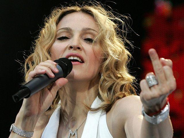 Madonna-Finger-Reuters