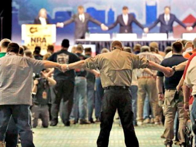 NRA Opening Prayer AP PhotoMark Humphrey