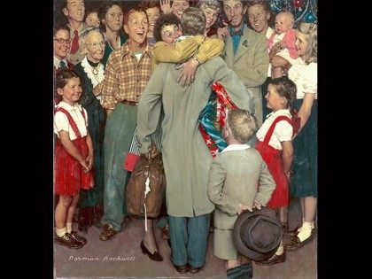 Norman-Rockwell-Christmas-Homecoming