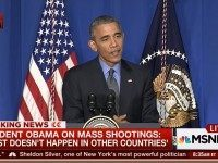 Obama In Paris: Mass Shootings Like PP Shooting Don't 'Happen In Other Countries'