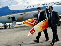 Obama Vacay Surfboards Secret Service AFP